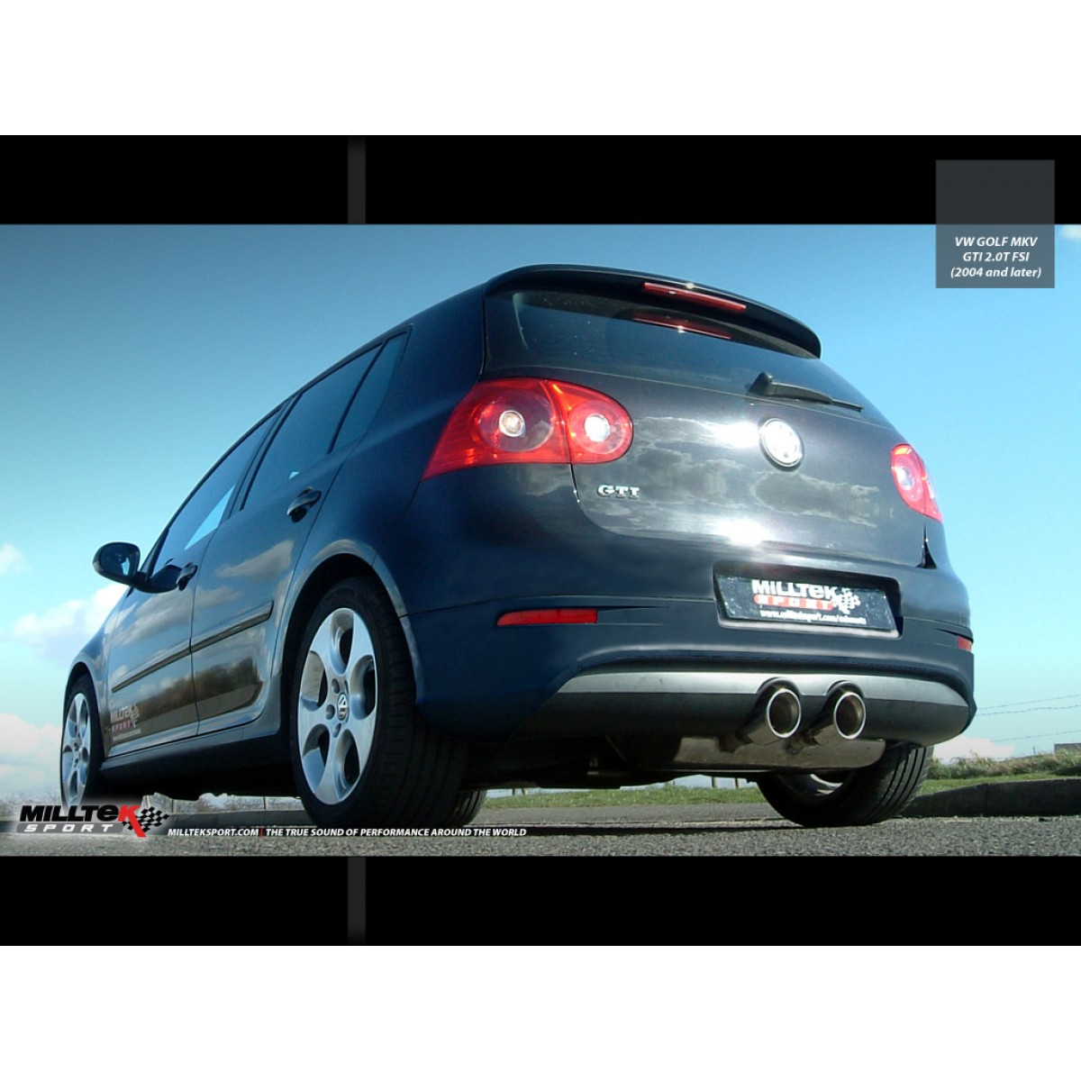 milltek sport vw golf 5 gti cat back r32 style resonated sklep. Black Bedroom Furniture Sets. Home Design Ideas